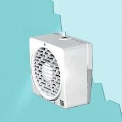 """Aspiratore Elicoidale Vortice 12452 230/9"""" AR Automatico Reversibile"""