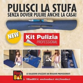 Kit Pulizia Professionale Stufe e Caldaie Fire&Box