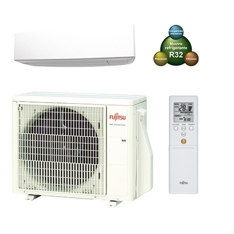 Condizionatore Climatizzatore R32 Fujitsu ASYG14KETA 12000 btu Mono SPlit Inverter