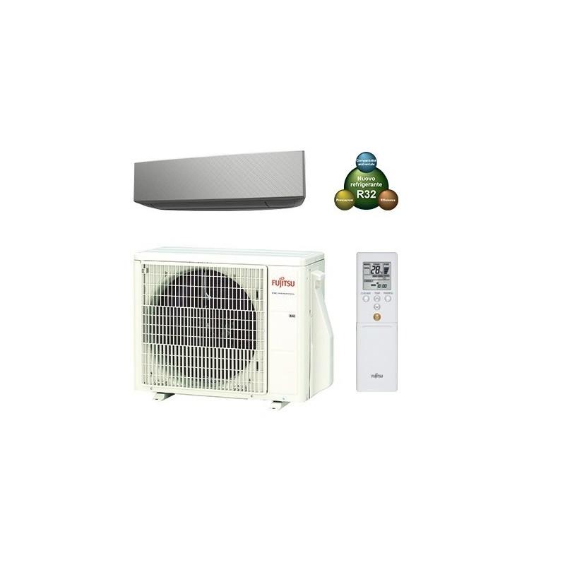 Condizionatore Climatizzatore R32 Fujitsu ASYG14KETA-B 14000 btu Mono SPlit Inverter