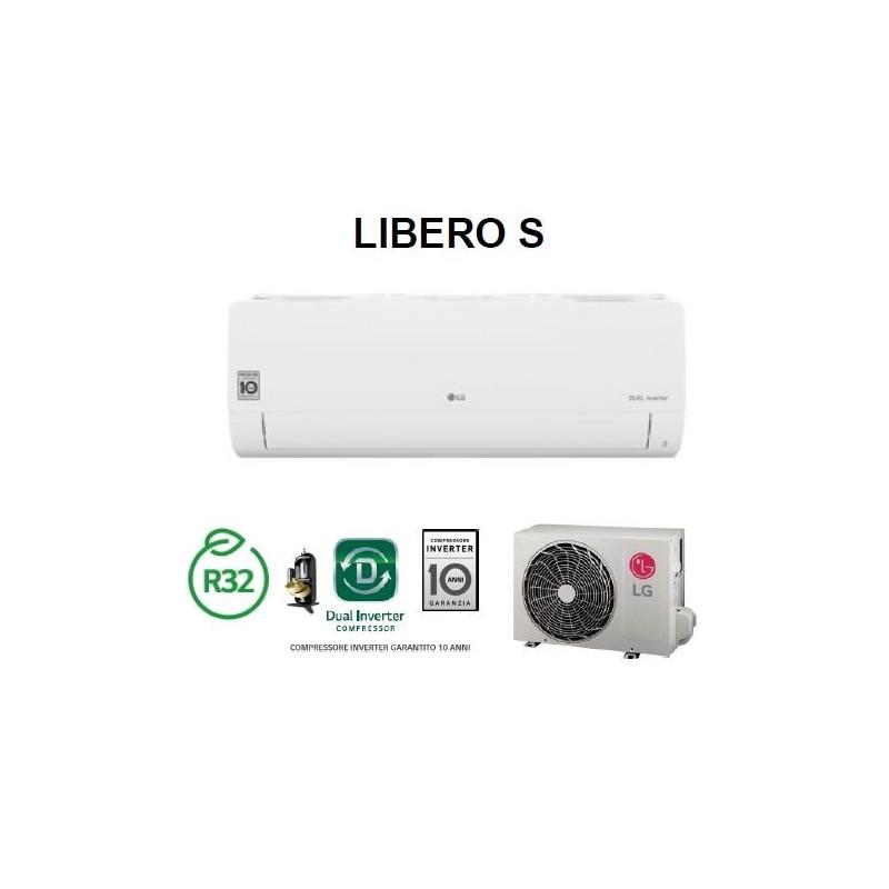Condizionatore Climatizzatore R32 LG Libero S - S09EQ 9000 btu Mono SPlit Inverter