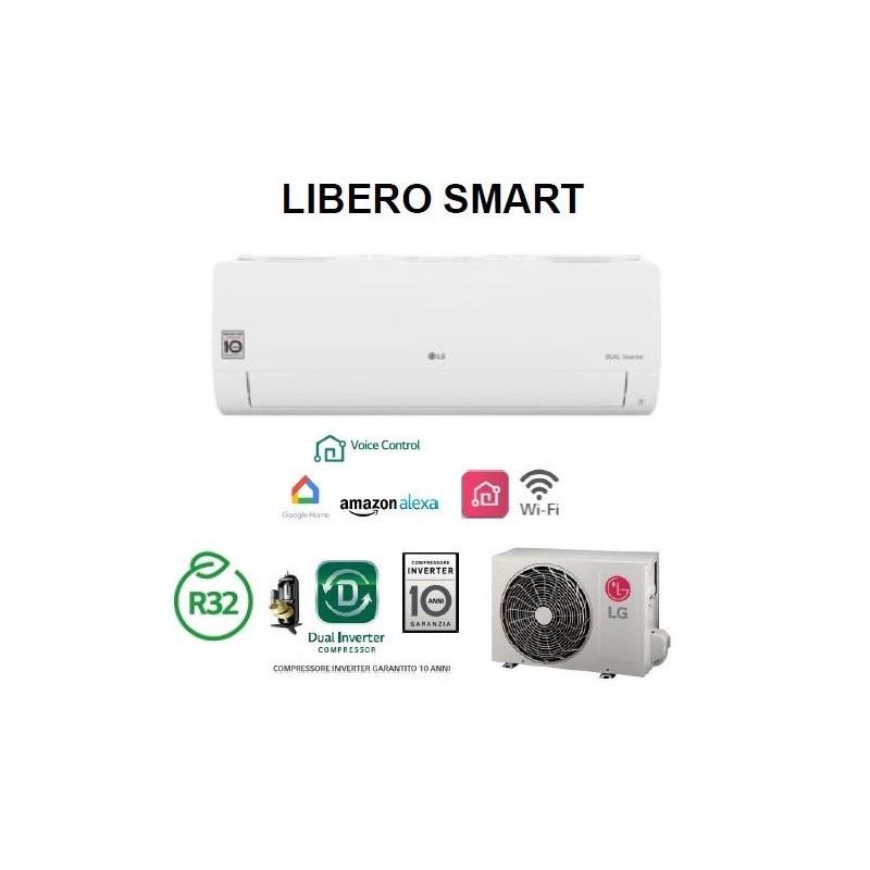 Condizionatore Climatizzatore WIFI R32 LG Libero Smart - S09ET 9000 btu Mono SPlit Inverter
