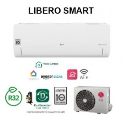 Condizionatore Climatizzatore WIFI R32 LG Libero Smart - S12ET 12000 btu Mono SPlit Inverter - Ultima Versione - GARANZIA ITALIA