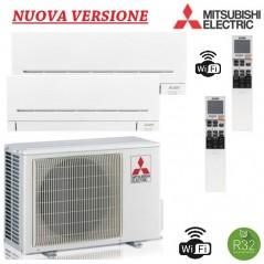 Climatizzatore Mitsubishi Dual Split 9+12 -MXZ-2F53VF + MSZ-AP25VGK + MSZ-AP35VGK Nuova Versione WIFI INTEGRATO A+++