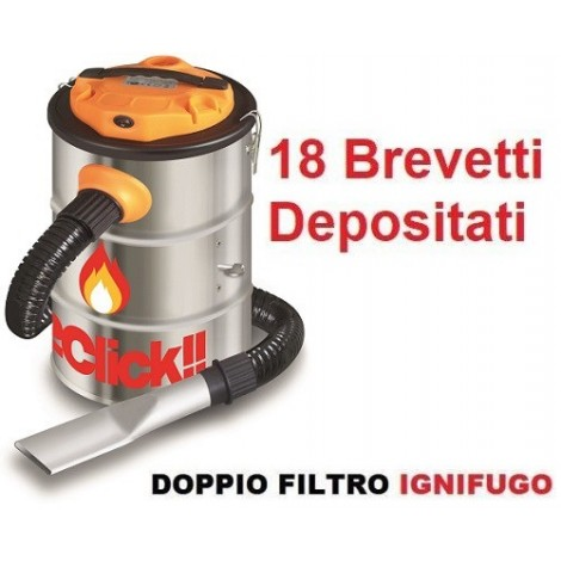 AspiraCenere Fire&box 2CLICK W8020