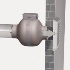 Aspiratore Centrifugo Vortice 16150 CA 100 MD in Acciaio